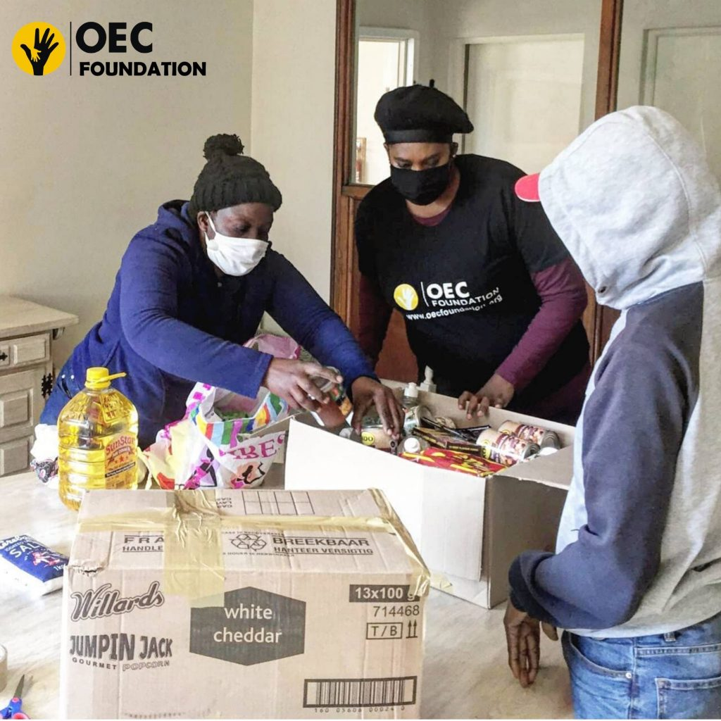 OEC Family Food Parcels Distribution